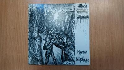 "LP 7"" - Blood Thirsty Demon / Wytchkrafts - split - limited DE/Brazil"