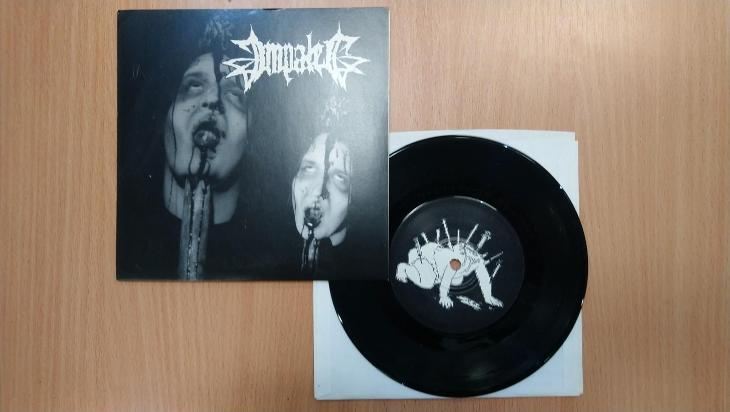 "LP 7"" - Impaled / Engorged - Discos Al Pacino US 2000, perfektní stav - Hudba"