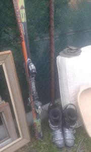 Lyže Atomic plus lyžáky