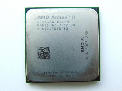 AMD Athlon II X4 645, 4x 3.1 GHz, AM3, ADX645WFK42GM