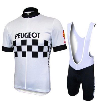 Cyklistický dres + kalhoty Peugeot