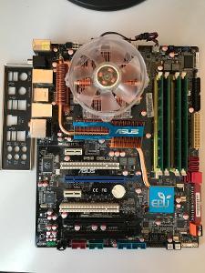 Asus P5Q Deluxe + Xeon E5450 (q9650) + 8GB Ram