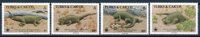 Turks a Caicos 1986 **/ Mi. 777-80 , WWF , komplet , /N1/