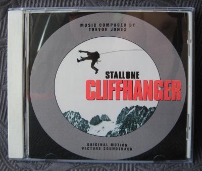 CD - Soundtrack - Cliffhanger  (1993) , CD V PĚKNÉM STAVU