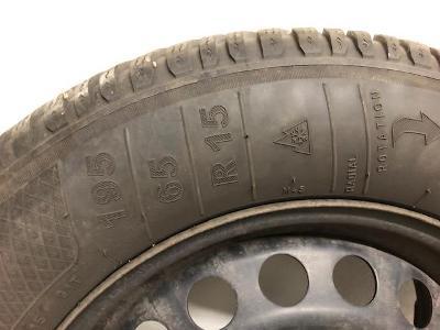 Zimní kola Kleber vč. zánovních pneu R15/65/195 (Ocstavia II)