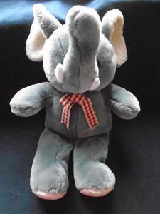 Velký, plyšový sloník..(11832)
