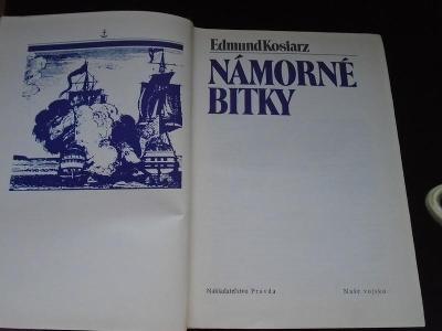 Kniha - Námorné bitky/Edmund Kosiarz/1981 - 596 str...(11847)