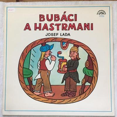 Josef Lada – Bubáci A Hastrmani - LP vinyl
