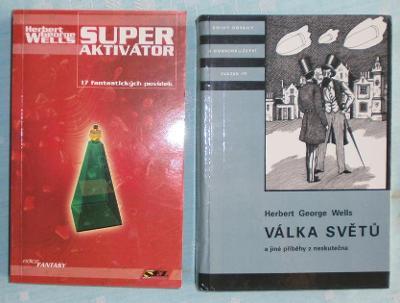 H. G. Wells: Superaktivátor, Válka světů a jiné příběhy z neskutečna