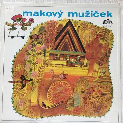 František Nepil – Makový Mužíček - LP vinyl
