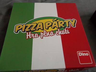 Stolní a společenké hry Pizza párty a panáky