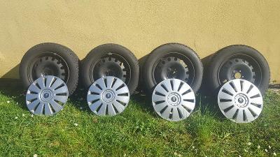 zimní pneu + disky 205/60 R16 96H + poklice
