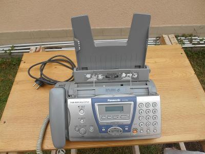 Telefon Panasonic s faxem