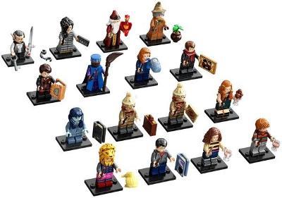 Originální LEGO 71028 Harry Potter 2. série - 16 kompletních panáčků