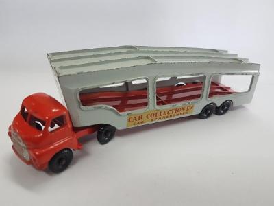 Matchbox Lesney England Accessory A2 Bedford Car Transporter - červený