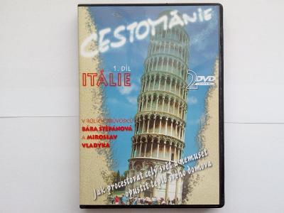 2x DVD Cestománie Itálie (Jako Nové!!!)