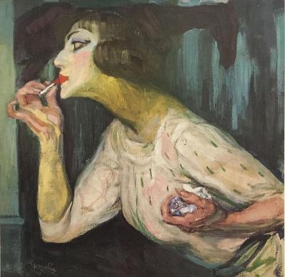 František Kupka - Rouge a Lèvres - Rtěnka 1908 / 1986
