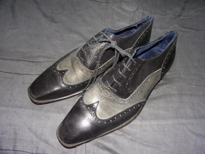 GKM-pánské kožené boty vel.43