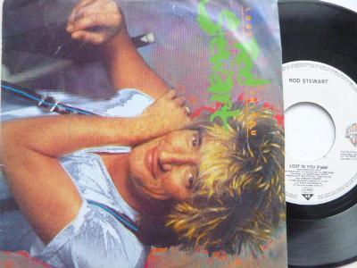 Hit SP ROD STEWART - Lost In You/ Almost Illegal  WB 1988 skvělý stav