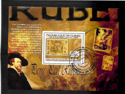 GUINEA - umění - Peter Paul Rubens
