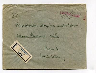 ČAKOVICE - R OBÁLKA + PROVIZORIUM 1945  /AP - 59 - 5