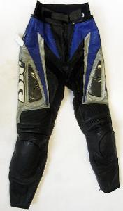 Kožené kalhoty dámské IXS - vel. XS/34, pas: 64 cm