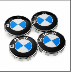 Středové výplně alu kol BMW 68mm