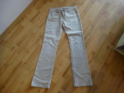 Kalhoty béžové-CAMAIEU-38-nové