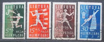 Litva 1938 Sport TOP SET Mi# 421-24 Kat 60€ 1499