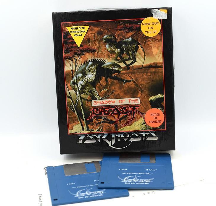 ***** Shadow of the beast (Atari ST) ***** - Historické počítače