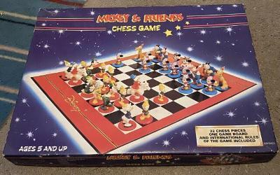 šachy - MICKEY AND FRIENDS - raritní