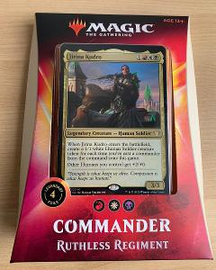 MTG: Commander 2020 - Ruthless Regiment