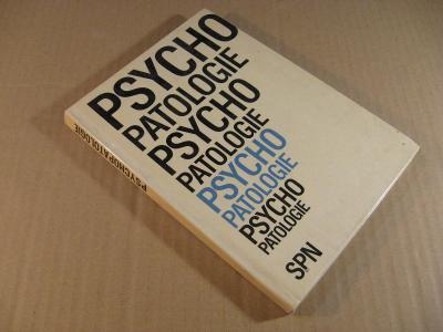 PSYCHOPATOLOGIE Richterová a kol. 1969 SPN