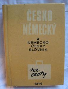 Česko německý / německo český slovník na cesty
