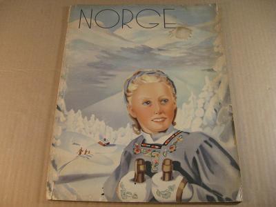 NORGE 1939 Oslo  NORSKO VE FOTOGRAFII velký formát