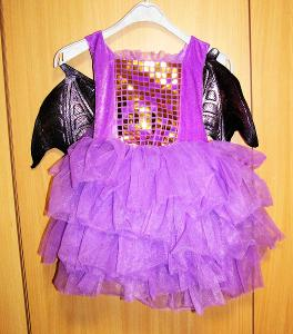 9397 DRÁČEK - dívčí karnevalový kostým vel.104
