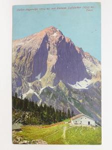 Rakousko - Tyrolsko, Alpy - Haller