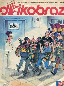 Dikobraz číslo 18 / 1992