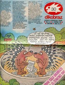 Dikobraz číslo 30 / 1985