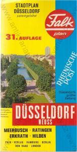 Falkplan Düsseldorf - Neuss