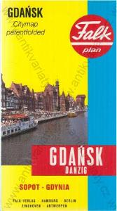 Falkplan Gdańsk - Danzig (Gdaňsk)