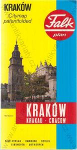 Falkplan Kraków (Krakov)