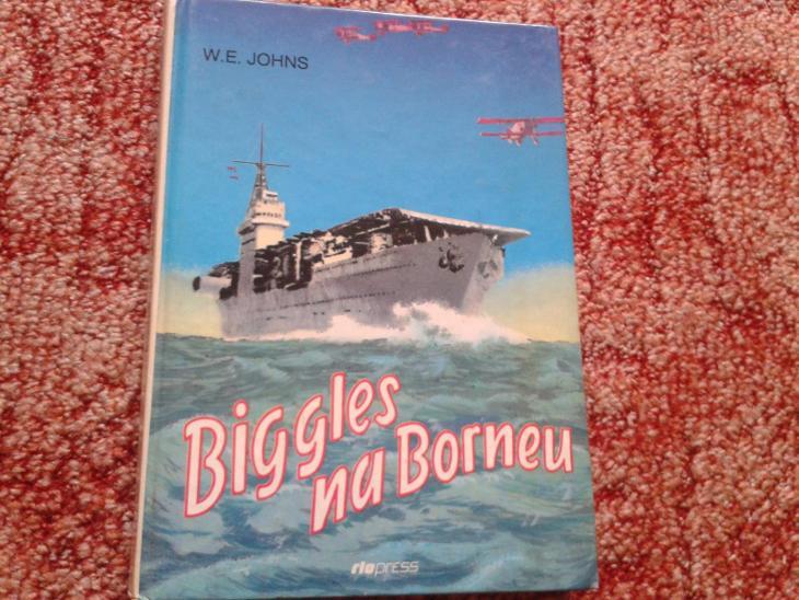 W.E.JOHNS: BIGGLES NA BORNEU - Knihy
