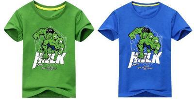 Hulk - dětské tričko, různé velikosti a barvy Avengers Marvel