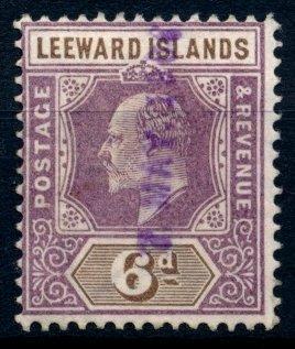 Závětrné ostrovy - Leeward Islands  1912 ʘ/ Mi. 53   , /N1/
