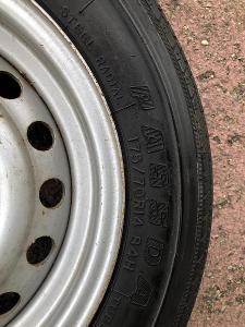Letní pneumatika Nankang 175/70 R14 84H, nejetá, s diskem 5J14H2 ET+20