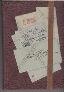 Ze zápisků Phil. stud. Filipa Kořínka 1893