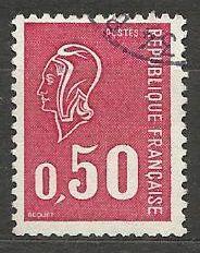 Francie razítkované, r. 1971, Mi.1735