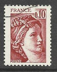 Francie razítkované, r. 1978, Mi.2083
