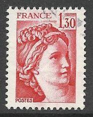 Francie razítkované, r. 1979, Mi.2172 A